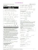 BỘ TÀI LIỆU ÔN THI ĐẠI HỌC- CHUYÊN ĐỀ PHƯƠNG TRÌNH, BẤT PHƯƠNG TRÌNH VÔ TỈ pdf