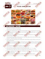 Unit 3: Food and drink ppt