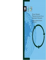 Global Guidance PrinciPles for life cycle assessment databases: A Basis for Greener Processes and Products ppt