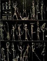 bộ sưu tập hình minh họa nghệ thuật khắc chữ của người ai cập cổ đại