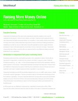 Raising More Money Online with Independent/Third-Party Fundraising Events pot