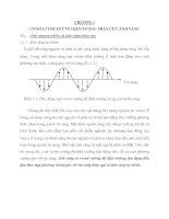 cơ sở lí thuyết về hiện tượng phân cực ánh sáng và ứng dụng