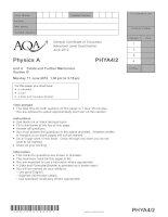 AQA PHYA4 2 QP JUN12