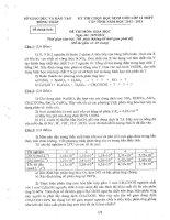 Đề thi HSG THPT lớp 12 Tỉnh Đồng Tháp môn Hóa năm 2013 potx
