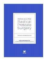 Before and after Radical Prostate Surgery pdf