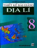 thiết kế bài giảng địa lý 8 tập 2