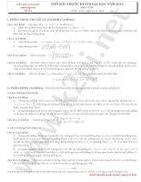 Thử sức trước kỳ thi đại học năm 2013 môn toán - Đề số 4 docx