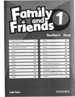 Family & Friends Teacher book 1