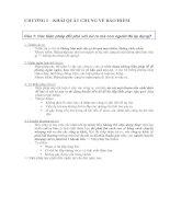 102 câu hỏi ôn thi bảo hiểm