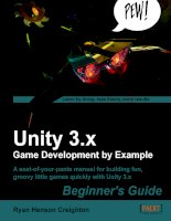 Unity 3.x Game Development by Example Beginner''''s Guide potx