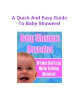 A Quick And Easy Guide To Baby Showers pot