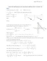 64 câu khảo sát hàm số giải chi tiết
