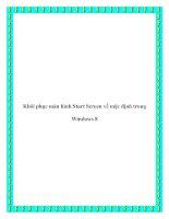 Khôi phục màn hình Start Screen về mặc định trong Windows 8 pdf