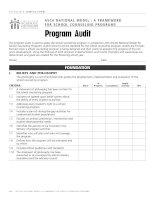 ASCA NATIONAL MODEL : A FRAMEWORK FOR SCHOOL COUNSELING PROGRAMS docx