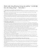 """Hình ảnh sông Hương trong tác phẩm """"Ai đã đặt tên cho dòng sông"""" – bài mẫu 1"""