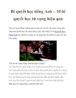 Bí quyết học tiếng Anh – 10 bí quyết học từ vựng hiệu quả pot