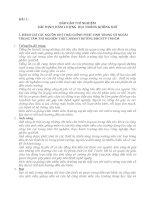 BÀI 1: BÁO CÁO THÍ NGHIỆM XÁC ĐỊNH HÀM LƯỢNG BỤI TRONG KHÔNG KHÍ pdf