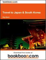 Travel to Japan & South Korea pot