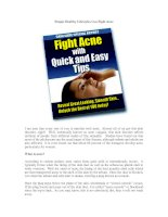 Simple Healthy Lifestyles Can Fight Acne pdf