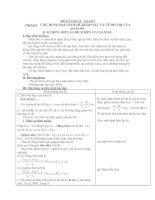sự đồng biến và nghịch biến của hàm số - toán 12 - gv.văn t.hòa