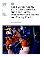 Food Safety Audits, Plant Characteristics, and Food Safety Technology Use in Meat and Poultry Plants pot