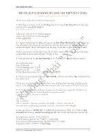 ĐỀ THI IQ VIETINBANK 28-7-2012 (THI TRÊN MÁY TÍNH) docx