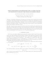 Xấp xỉ hữu hạn chiều cho bài toán cực trị đa mục tiêu không chỉnh các phiếm hàm lồi trong không gian Banach. docx