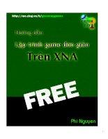 Hướng dẫn lập trình game với XNA , XNA ebook   green ray games