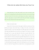 Phân tích tác phẩm Đời thừa của Nam Cao potx