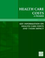 KEy iNFORmATiON ON HEALTH CARE COSTS AND THEiR imPACT 2012 doc