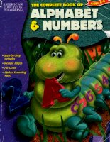 The Complete Book of Alphabet and Numbers (The Complete Book Series) doc