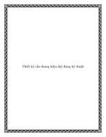 Thiết kế cầu thang hiện đại đúng kỹ thuật pdf