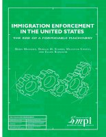 Immigration enforcement in the united states: the rise of a formidable machinery potx