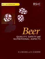 BEER: QUALITY, SAFETY AND NUTRITIONAL ASPECTS potx