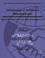 offshoring of software development pdf