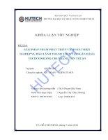 Luận văn:Giải pháp nhằm phát triển & hoàn thiện nghiệp vụ bảo lãnh thanh toán tại Techcombank - chi nhánh Tân Thuận pot