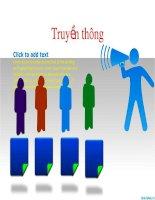biểu tượng minh họa powerpoint - pr truyền thông, pr illustration