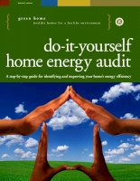 Do it yourself home energy audit: A step-by-step guide for identifying and improving your home's energy efficiency pot