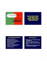CÁC CƠ HỘI VỀ SẢN XUẤT SẠCH HƠN TRONG NGÀNH CHẾ BIẾN THỦY SẢN pdf