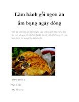 Làm bánh gối ngon ăn ấm bụng ngày đông pdf