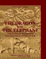 THE DRAGON AND THE ELEPHANT doc