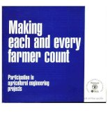 making each and every farmer count pptx