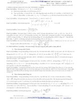 ĐỀ THI THỬ ĐH NĂM 2013 - LẦN THỨ II ĐỀ THI Môn : Toán - Khối A và khối B - TRƯỜNG THPT ĐẶNG THÚC HỨA pptx