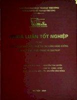Kinh doanh hàng miễn thuế tại các cảng hàng không của Việt Nam - thực trạng và giải pháp