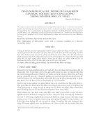 PHÂN NHÁNH CỦA CHU TRÌNH CHỨA HAI ĐIỂM CÂN BẰNG VỚI ĐIỀU KIỆN CỘNG HƯỞNG TRONG MÔ HÌNH ĐỐI LƯU NHIỆT ppt