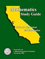 MATHEMATICS STUDY GUIDE - CAHSEE Study Guide Mathematics pdf