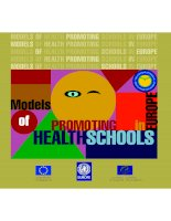 Models of Health Promoting Schools in Europe doc