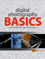 Digital photography basics: Taking first step off full auto