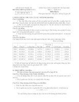 Đề Thi Thử Đại Học Khối C Địa 2013 - Phần 1 - Đề 13 ppt