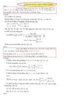 Các bài toán về hình vuông LTĐH